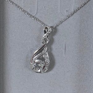 Zales sterling silver necklace